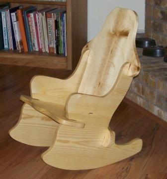 Кресло качалка своими руками без гвоздей