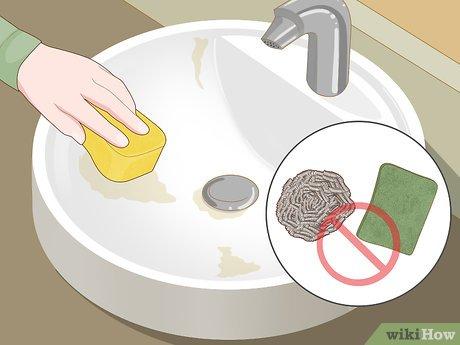 Изображение с названием Clean and Shine a Porcelain Sink Step 1