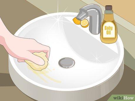 Изображение с названием Clean and Shine a Porcelain Sink Step 8