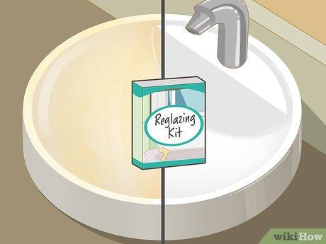 Изображение с названием Clean and Shine a Porcelain Sink Step 7