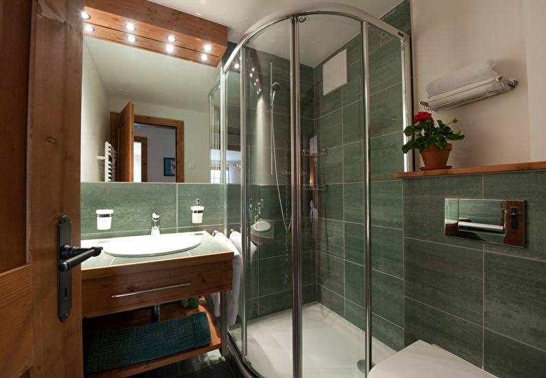 Ванная 4 кв.м. в современном стиле - Дизайн интерьера