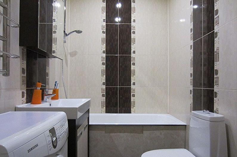 Дизайн маленькой ванной комнаты - Планировка