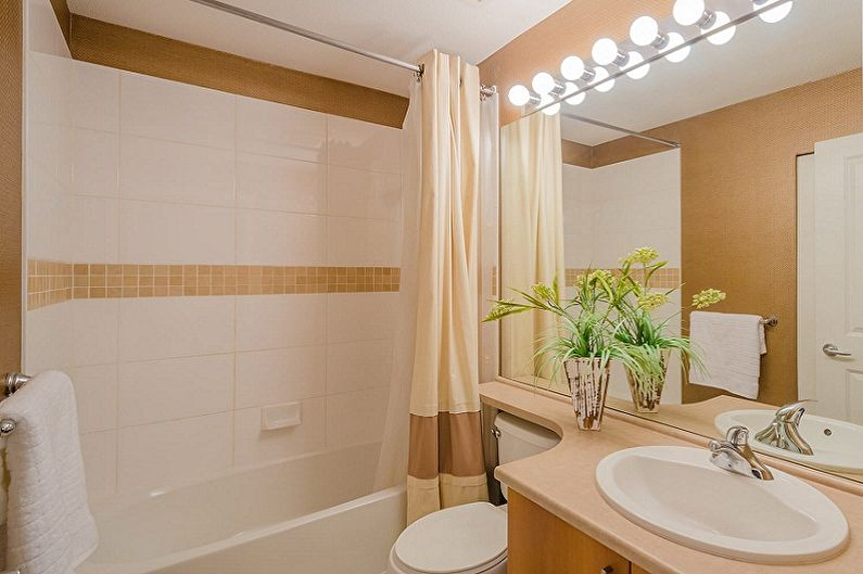 Дизайн маленькой ванной комнаты - Цветовые решения