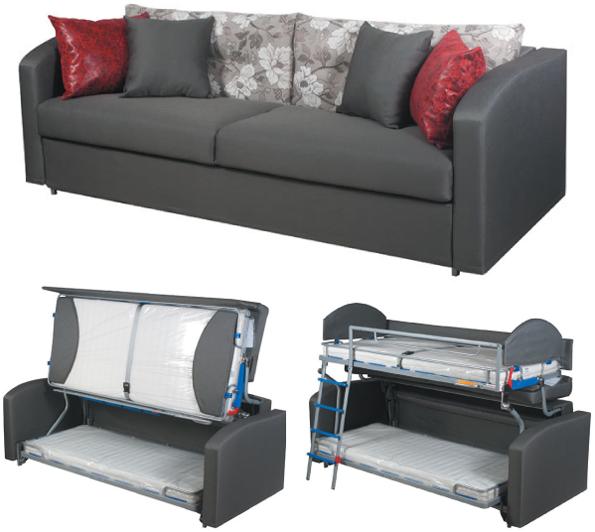 мебель с доставкой диван трансформер в двухъярусную кровать