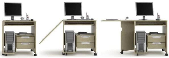 Компьютерный стол транссформер