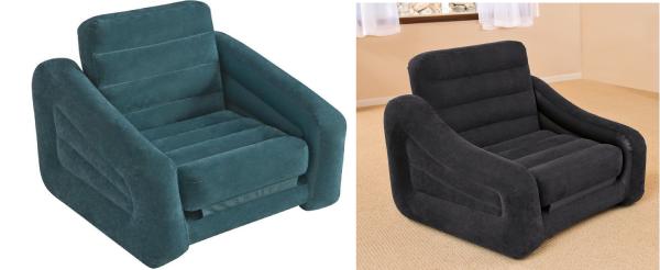 Надувное кресло матрас
