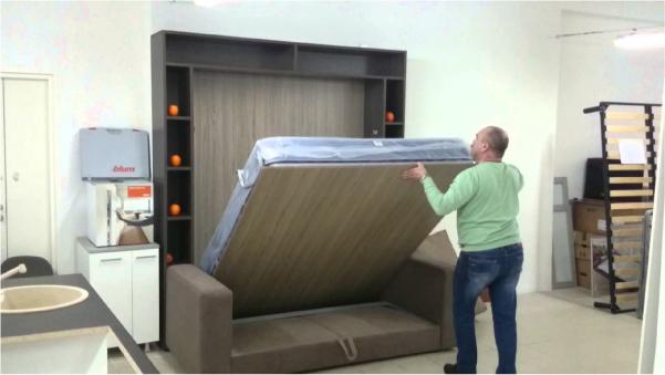 Откидная кровать трасформер