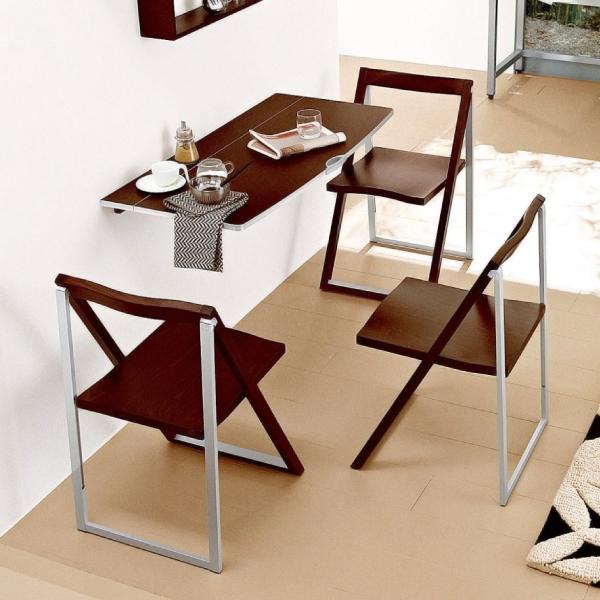 Откидной стол трансформер для кухни