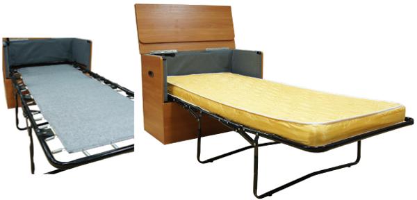 Стол траснформер в раскладушку с матрасом