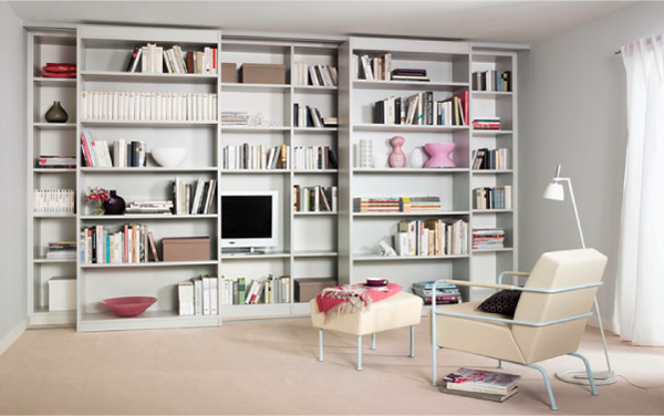 Раздвижные домашние библиотеки