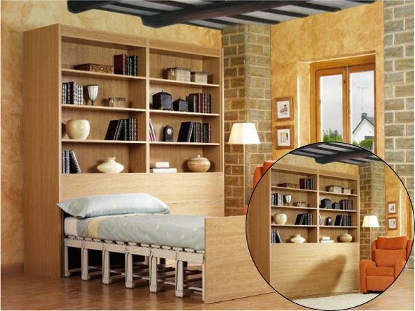 Автоматический трансформер шкаф-кровать фирмы Belitec