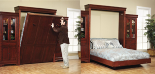 Шкаф-кровать трансформер: модификации и модели
