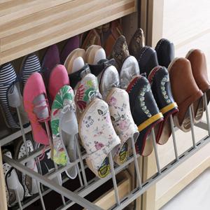 Как хранить обув, когда мало места