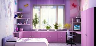 Дизайн подоконников маленькой квартиры