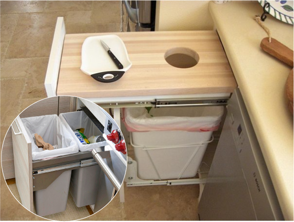 Интерьер маленькой кухни фото