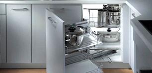 Интерьер маленькой кухни: современные технологии расширения пространства. Часть 2