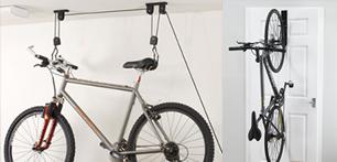 Как хранить велосипед?