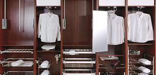 Шкаф купе наполнение: в прихожую, спальную и др. Фото