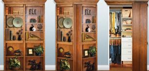 Дверь стеллаж и еще 5 видов потайных дверей
