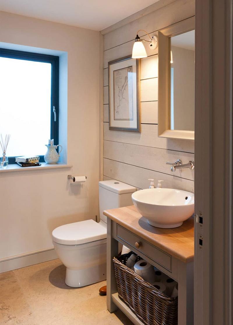 Дизайн маленькой ванной комнаты 5