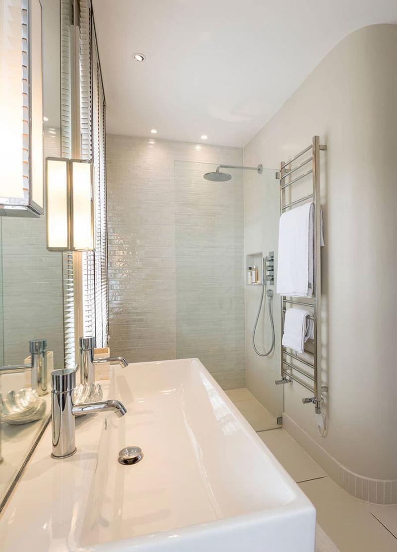 Дизайн маленькой ванной комнаты 9