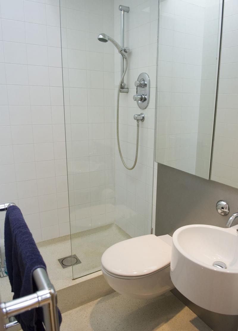 Интерьер маленькой ванной комнаты 3