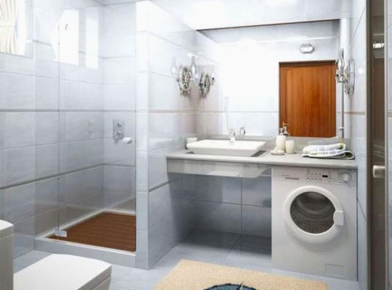 Интерьер ванной комнаты 4 кв м 4