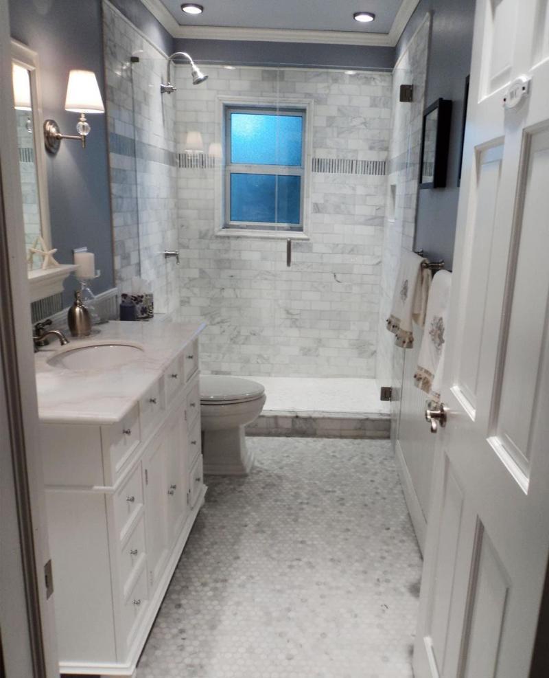 Интерьер ванной комнаты 4 кв м 7