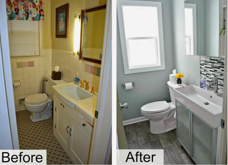 Как визуально сделать маленькую ванную просторнее 3