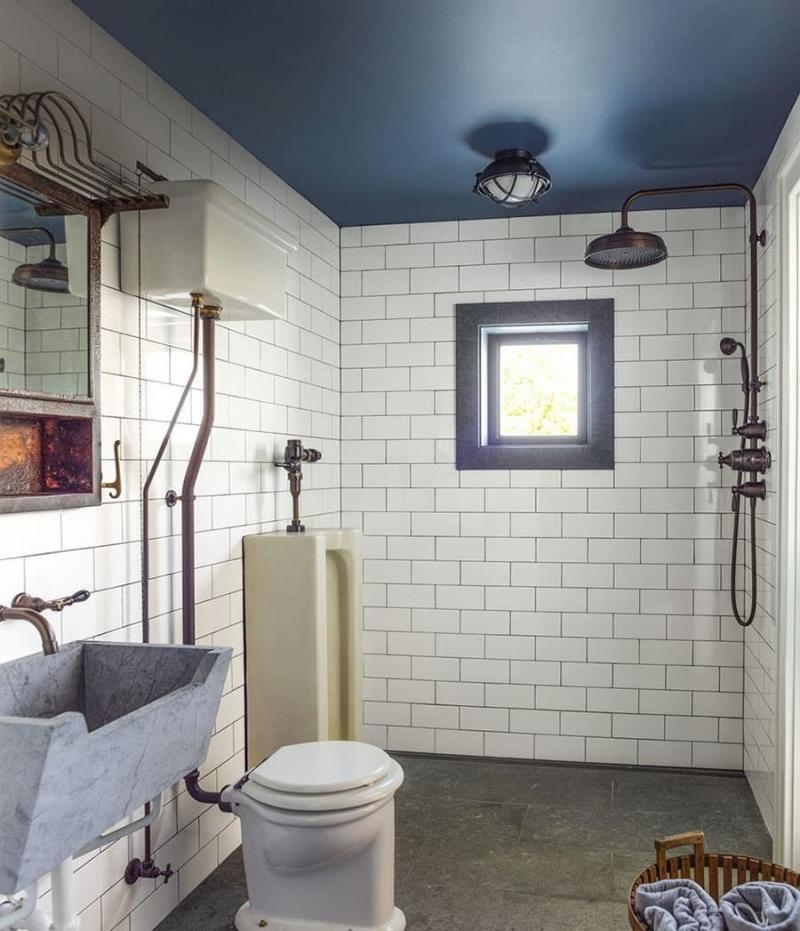Маленькая ванная комната (интерьер) 6
