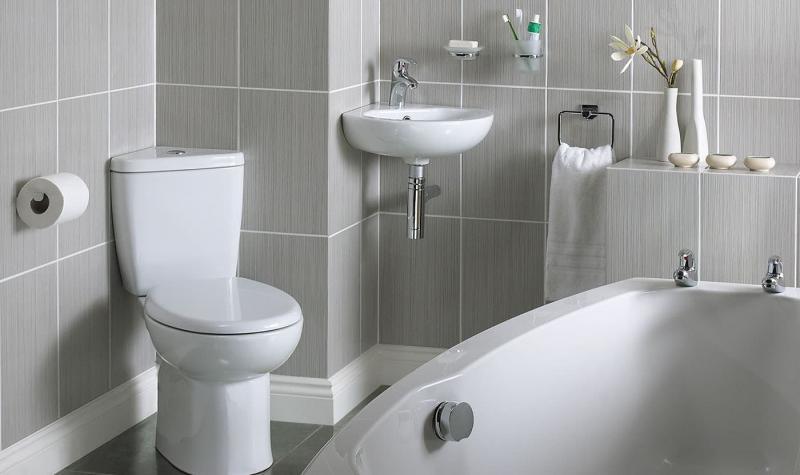 Маленькая ванная комната (интерьер) 9