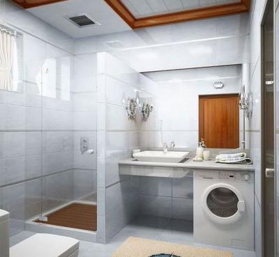 Дизайн ванной комнат 4 кв м 7