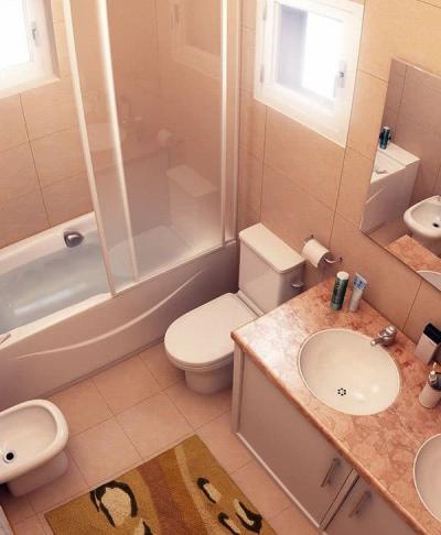 Ванная 4 кв м 3