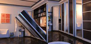 Шкаф-кровать легка на подъем
