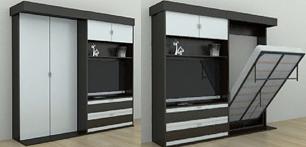 Шкаф – кровать с необычными свойствами