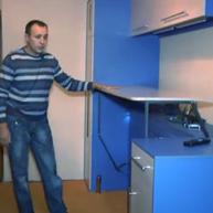 Стол-кровать трансформер видео