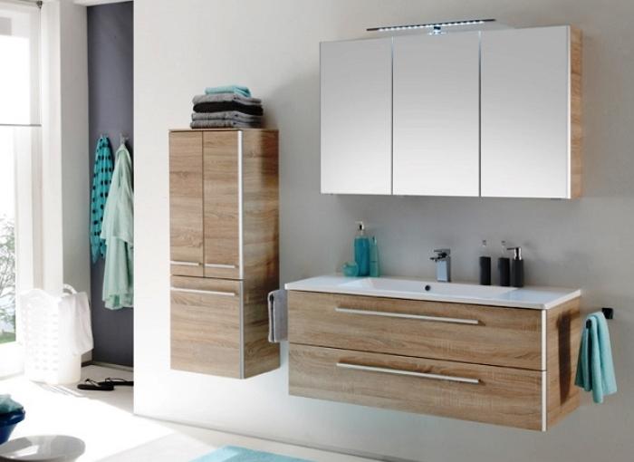 идея для маленькой ванной комнаты