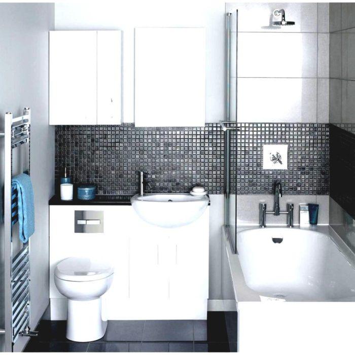 Дизайн маленькой ванной комнаты площадью 4 м