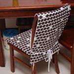 Чехлы на стулья со спинкой, накидки на стулья для кухни своими руками
