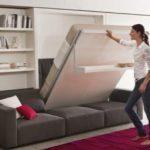 Диван-кровать-трансформер для малогабаритных квартир: варианты компактных трансформеров для маленьких комнат