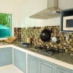 Дизайн кухни без верхних шкафов: фото примеры, особенности планировки: идеи угловых и линейных