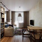 Дизайн маленькой квартиры: интерьерные решения и идеи современного ремонта с фото