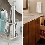 Где и как правильно хранить фен и плойки в ванной?