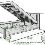 Как сделать кровать с подъемным механизмом своими руками, советы | как самому сделать чертеж, выбрать материалы, изготовить составляющие; сборка, установка и финишная обработка