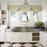 Линолеум под плитку на кухню: фото вариантов