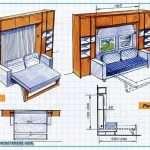 Мебель-трансформер своими руками: советы, чертежи и схемы сборки