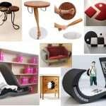 Необычная мебель, подборка самых интересных моделей