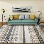 Правила выбора ковра для современного интерьера, советы по выбору цвета, размера и формы, какой ковер нужен в гостиную, спальню или столовую