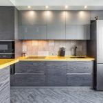 Серая кухня в интерьере: примеры сочетания цветов, лучшие идеи дизайна