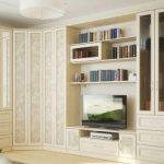 Угловая мебель в гостиную: стенки и наборы мебели со шкафом в современном стиле и других, дизайн узких и широких угловых гостиных в интерьере